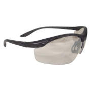 Radians Cheaters Safety Glasses - Smoke Frame - Indoor/Outdoor Bifocal Lens