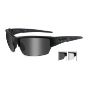 Wiley X Saint Sunglasses - Matte Black Frame - Grey & Clear Lenses