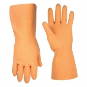 CLC 2308 Orange Latex Stripper Gloves - One Pack