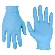 CLC 2332PC Nitrile Disposable Gloves - Pre-Powdered