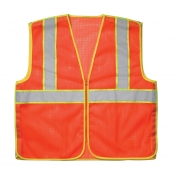 CLC SV11 Class 2 Extra Length Safety Vest - Orange