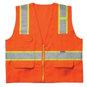 CLC SV23 Class 2 Surveyor Safety Vest - Orange