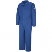 Bulwark FR CLD4 Men's Deluxe Coverall - Excel FR CoolTouch 2 - 6 oz. - Royal Blue