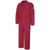 Bulwark FR CLD4 Men's Deluxe Coverall - Excel FR CoolTouch 2 - 6 oz. - Red