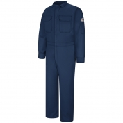 Bulwark FR CMD6 Men's Deluxe Coverall - CoolTouch 2 - 7 oz. - Navy