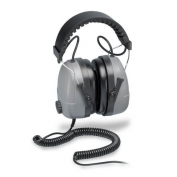Elvex Plug-In Electronic Ear Muff with 100 dB Limiter and 0 NRR