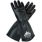 Memphis CP14R Butyl Rubber Gloves - Textured Finish - 14 \\\