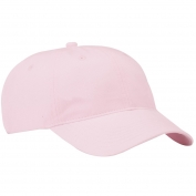 Port & Company CP77 Brushed Twill Low Profile Cap - Light Pink