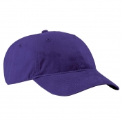 Port & Company CP77 Brushed Twill Low Profile Cap - Purple