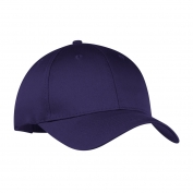 Port & Company CP80 Six-Panel Twill Cap - Purple