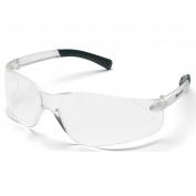 Crews BK110 BearKat Safety Glasses - Clear Temples - Clear Lens