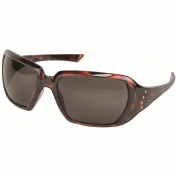 Crews CR1222 Crews 2 Safety Glasses - Tortoise Shell Frame - Gray Lens