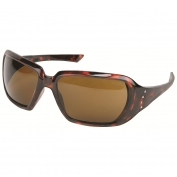 Crews CR122B Crews 2 Safety Glasses - Tortoise Shell Frame - Brown Lens