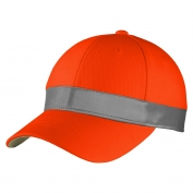 CornerStone CS802 ANSI 107 Safety Cap - Safety Orange