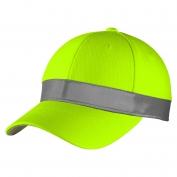CornerStone CS802 ANSI 107 Safety Cap - Safety Yellow
