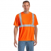 CornerStone CS401 Class 2 Safety T-Shirt - Orange