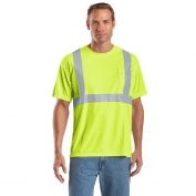 CornerStone CS401 Type R Class 2 Safety T-Shirt - Yellow/Lime