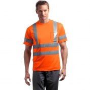 CornerStone CS408 Type R Class 3 Safety T-Shirt - Orange
