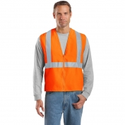 CornerStone CSV400 Type R Class 2 Solid Safety Vest - Orange