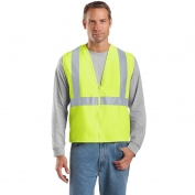 CornerStone CSV400 Type R Class 2 Solid Safety Vest - Yellow/Lime