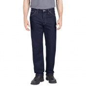 Dickies CR393 Industrial Relaxed Fit Denim Jeans - Rinsed Indigo Blue
