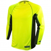 DeWalt DST21-NPGB Long Sleeve Performance T-Shirt - Hi-Viz Lime