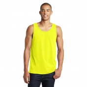 District DT5300 Young Mens Concert Tank - Neon Yellow
