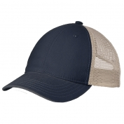 District DT630 Super Soft Mesh Back Cap - New Navy/Stone