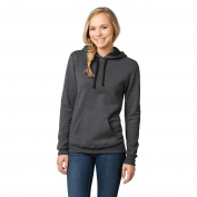 District DT811 Juniors Concert Fleece Hoodie - Heathered Charcoal