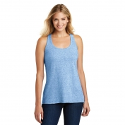 District Made DM466A Ladies Cosmic Twist Back Tank