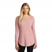 District Made DT132L Ladies Perfect Tri Long Sleeve Tunic