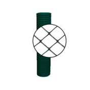Resinet Diamond Crowd Control Fence - Green - 4 ft x 100 ft