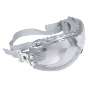 Radians Cloak Dual Mold Safety Goggles - Clear Frame - Clear Anti-Fog Lens
