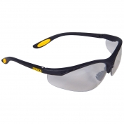 DeWalt DPG58-9 Reinforcer Safety Glasses - Black Frame - Indoor/Outdoor Mirror Lens