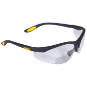 DeWalt DPG59-1 Reinforcer Rx Safety Glasses - Black Frame - Clear Bifocal Lens