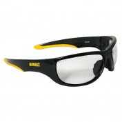 DeWalt DPG94-1 Dominator Safety Glasses - Black Frame - Clear Lens