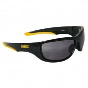 DeWalt DPG94-2 Dominator Safety Glasses - Black Frame - Smoke Lens
