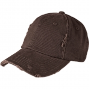 District DT600 Distressed Cap - Chocolate Brown