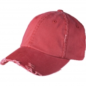 District DT600 Distressed Cap - Dashing Red