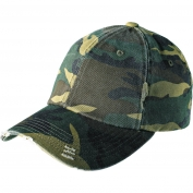 District DT600 Distressed Cap - Camo