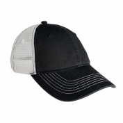 District DT607 Mesh Back Cap - Black/White