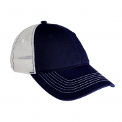 District DT607 Mesh Back Cap - New Navy/White