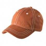 District DT610 Thick Stitch Cap - Burnt Orange/Stone