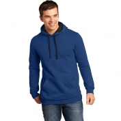 District DT810 Young Mens Concert Fleece Hoodie - Deep Royal