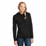 District DT811 Juniors Concert Fleece Hoodie - Black