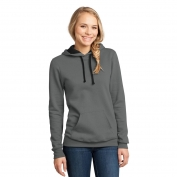 District DT811 Juniors Concert Fleece Hoodie - Grey