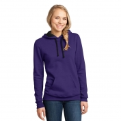 District DT811 Juniors Concert Fleece Hoodie - Purple