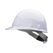 Fibre Metal E2RW Hard Hat - Ratchet Suspension - White
