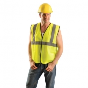 OccuNomix ECO-G Type R Class 2 Value Solid Safety Vest - Yellow/Lime