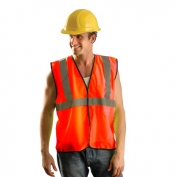 OccuNomix ECO-GC Type R Class 2 Value Mesh Safety Vest - Orange